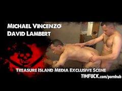Michael Vincenzo's First Bareback Scene!
