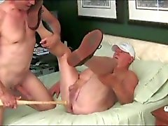 Daddy gets his cherry popped!
