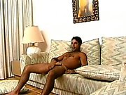Muscled gay hunk welcomes every inch of hard meat up his hungry ass