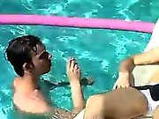 Hairy gay twink bubble with buff smoker Mike Roberts and hun