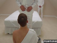 Mormonboyz - Young guy cums while being fucked bareback