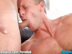 Denis Reed FUCks GUy and Girl ( threesome)