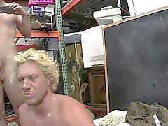 Muscular sporty dude gets butt fucked