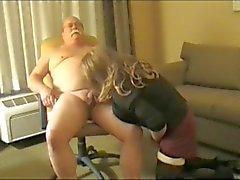 Grandpa Mustache Chub gets sucked (sorry, bad conversion)