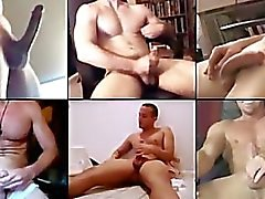 "Caught on Cam ""Many guys Jacking Off together Online"" Com"