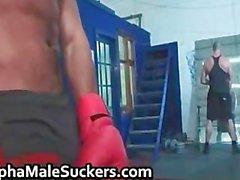 Horny gay hardcore fucking and sucking part1