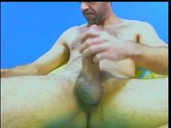 Hung Brazilian Daddy Cumming a Lot