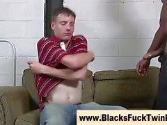 Black hard amateur dick gets sucked