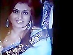 Cum Tribute To Indian Tamil Actress Sona indian desi indian cumshots arab
