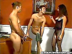 Bisexual Office Fuck