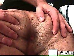 Adam Russo gets hairy anus fucked