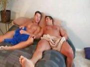 Muscle Robert Van Damme helps bodybuilder Vince Morelli get into porn.