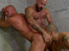 Alessio Romero, Matt Stevens & Benjamin Bronx