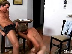 Tucker was itching to get pounded by Jimmy Durano - he