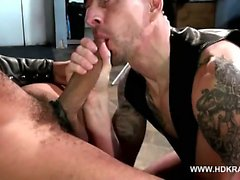 Bareback Big Guns: Antonio Biaggi and Kriss Aston