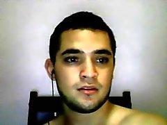 Straight guys feet on webcam #468