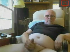 Grandpa's good erection