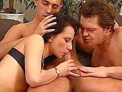 Bisexual pool sex