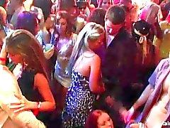 Bi girls fucking dicks at wild party