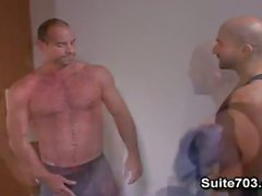 Girth Brooks and Alex Slater two muscle queers