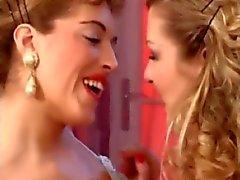 Hot Lesbians Sharing Cock BVR