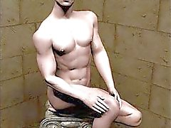 3D Hot Muscled Gays!