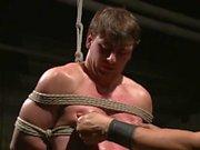 Bi Gymnast Scott Harbor Endures a Whirlwind Of Torment - Scene 1