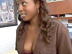 She is black and loves to fuck hard