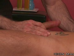 IconMale Masseur Gets Fucked By Client