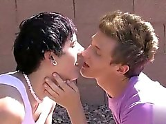 Hot gay scene There's a real spark of romance between twinks