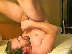 Masturbating & Cumming Into Mouth & Swallowing