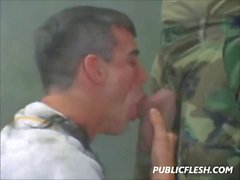 Gay Classic Military Discipline And Obedience