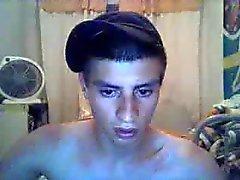 Straight guys feet on webcam #500