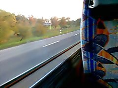 little fun on a bus without cum