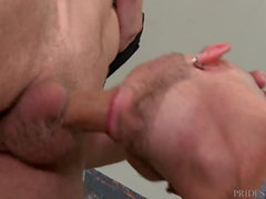 My Uncut Big Dick Muscle Hunk Roommate Finally Fucked Me!
