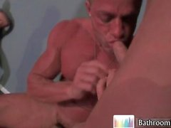 Gavin Waters in hot bathroom fucking part3