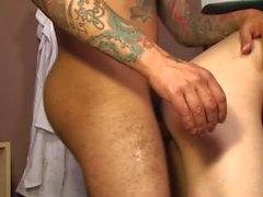 Thug latino nurse seduces his twink patient