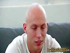 Bald guy Mathew gives hot blowjob part4