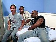 White guy gets gangbanged by black men