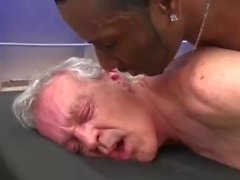 Big Black Cock For Grandpa