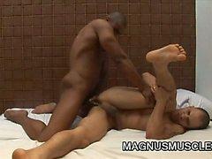 Renzo Mazime And Tony Lee - Muscular Guys Anal Fucking Play