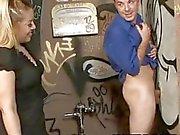 Hot dude Billy Dewitt tries the glory hole