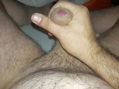 Man have a Lovely wank with audio and great cumshot