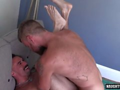 hairy gay flip flop and cumshot video