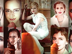 Emma Watson - compilation of my cum tributes x18 4k