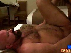 Muscle bear bareback and cumshot