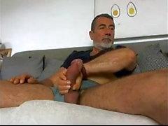 hairy daddy big tool