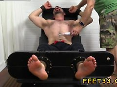 Passed out boy feet and black gay men feet in ass Dolan Wolf