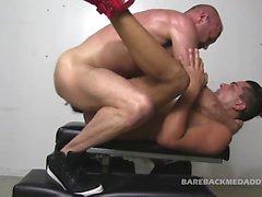 Chad Brock Sling Fucks Cesar Xes Raw
