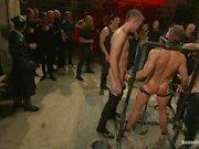 Adam Knox Gets Caught in a Cumfest - Scene 1